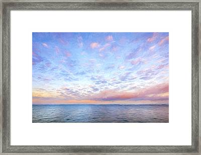 Cloud Collective II Framed Print by Jon Glaser