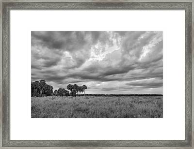 Cloud Collective Framed Print