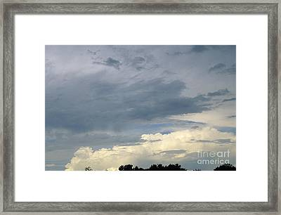 Cloud Cover Framed Print by Erin Paul Donovan