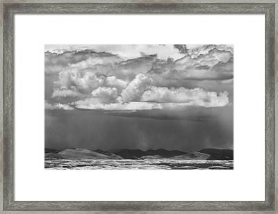 Cloudy Weather Framed Print