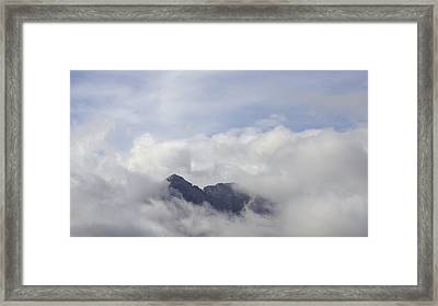 Cloud Cover II Framed Print