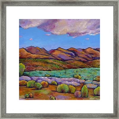 Cloud Cover Framed Print by Johnathan Harris