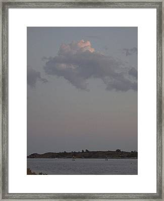 Cloud Framed Print by Dan Andersson