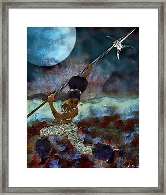 Cloud Dancer A Capella Framed Print by Iowan Stone-Flowers