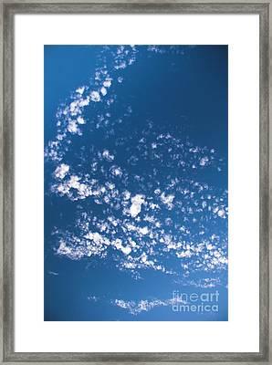 Framed Print featuring the photograph Cloud Dragon by Yulia Kazansky