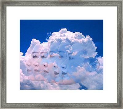 Cloud Dream Framed Print by Matthew Lacey