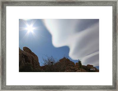 Cloud Dreams Framed Print