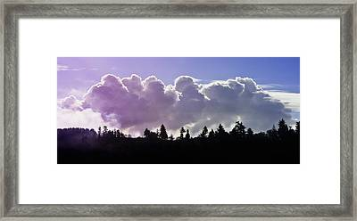 Cloud Express Framed Print