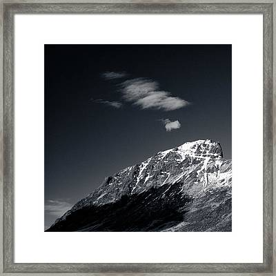 Cloud Formation Framed Print by Dave Bowman