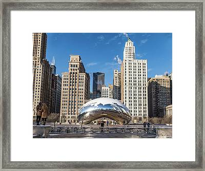 Cloud Gate To Chicago Framed Print