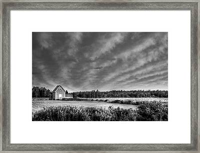 Cloud Illusion Framed Print