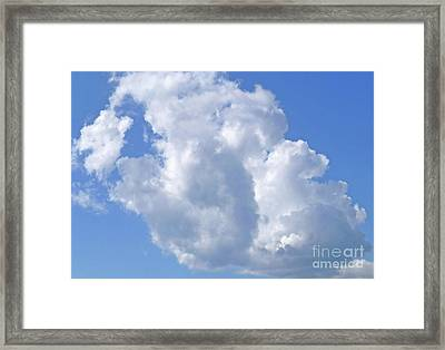 Framed Print featuring the photograph Cloud M1 by Francesca Mackenney