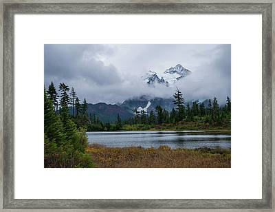 Cloud Mountain Framed Print