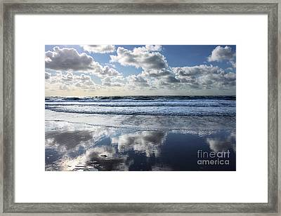 Cloud Nine Framed Print by Steffi Louis