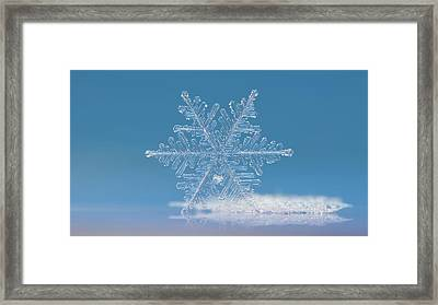 Cloud Number Nine, Panoramic Version Framed Print