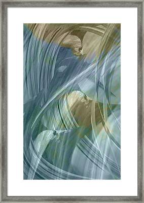 Framed Print featuring the digital art Cloud Of Witnesses by Jean Moore