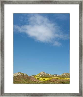 Cloud Over Carrizo Framed Print