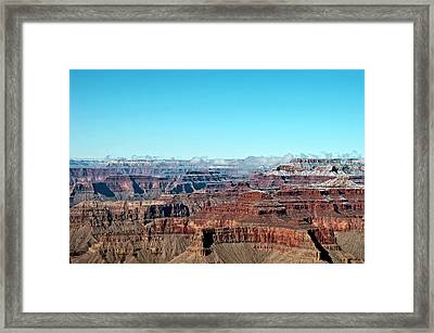 Cloud Over Grand Canyon Framed Print by @Niladri Nath