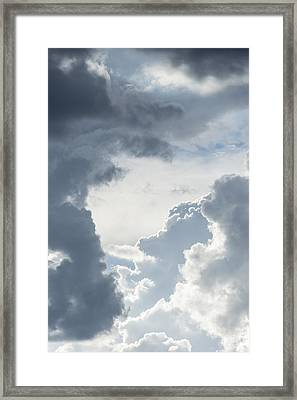 Cloud Painting Framed Print