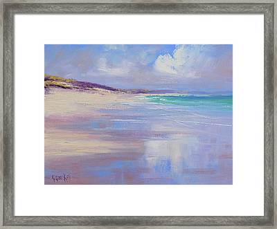 Cloud Reflections Framed Print