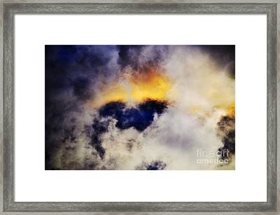 Cloud Sculping Framed Print by Clayton Bruster