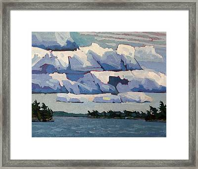 Cloud Signs Framed Print by Phil Chadwick