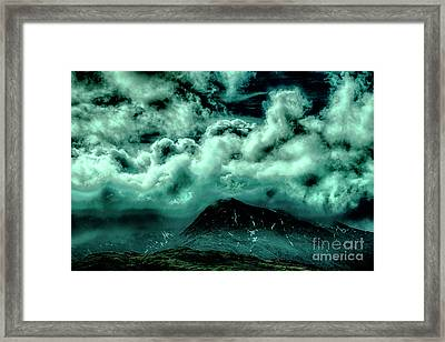 Cloud Strewn - Mysterious Skies Framed Print by Christopher Maxum