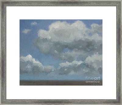Cloud Study #3 Framed Print by Jennifer Boswell