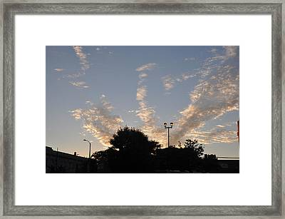 Cloud Symphony Framed Print