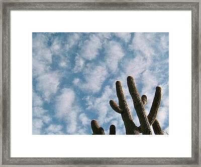 Cloud Watchers 2 Framed Print