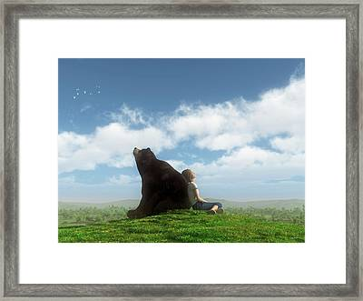 Cloud Watchers Framed Print