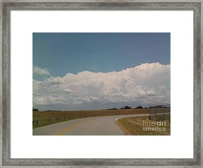 Cloudbank Framed Print