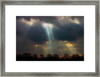 Cloudbreak Framed Print