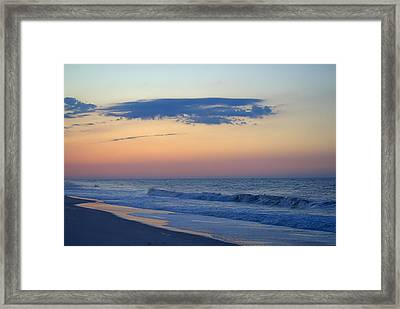 Framed Print featuring the photograph Clouded Pre Sunrise by  Newwwman
