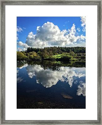 Clouded Visions Framed Print