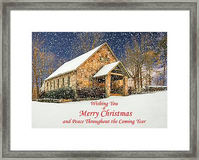 Cloudland Presbyterian Church  Framed Print
