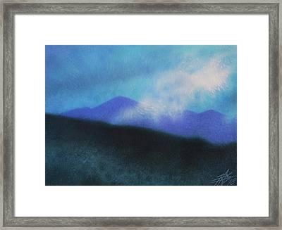 Cloudline IIi Framed Print by Robin Street-Morris