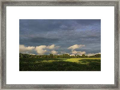 Cloudline Framed Print by Jerry LoFaro