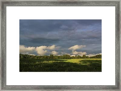 Cloudline Framed Print