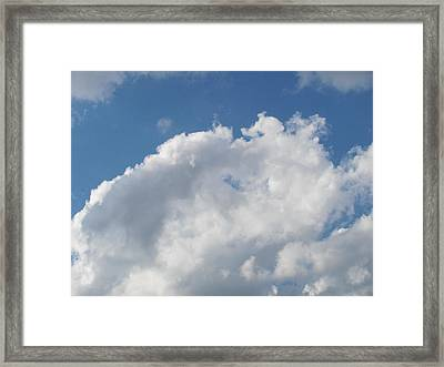 Framed Print featuring the photograph Clouds 12 by Douglas Pike