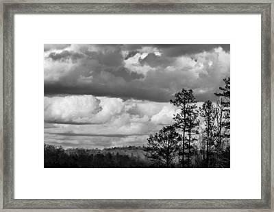 Clouds 2 Framed Print