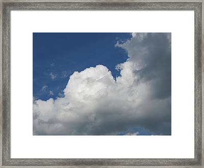 Framed Print featuring the photograph Clouds 5 by Douglas Pike
