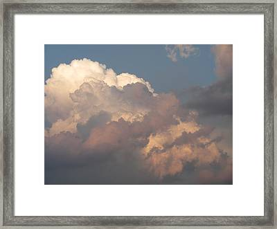 Framed Print featuring the photograph Clouds 6 by Douglas Pike