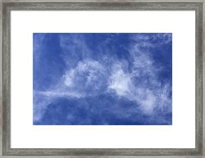 Clouds 6 Framed Print by Teresa Mucha