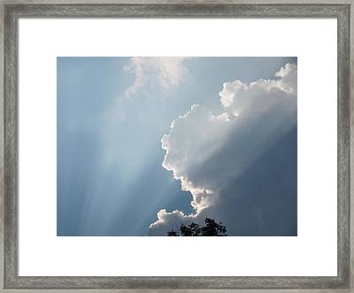Framed Print featuring the photograph Clouds 8 by Douglas Pike