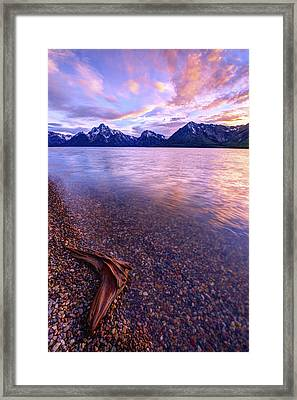 Clouds And Wind Framed Print by Chad Dutson