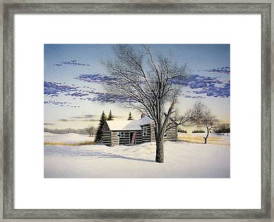 Clouds At Sunrise. Framed Print by Conrad Mieschke