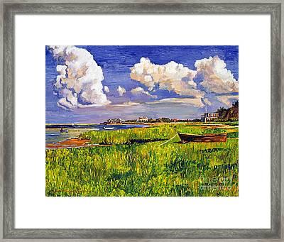 Clouds Framed Print by David Lloyd Glover