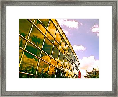Clouds Do Talk Framed Print by Chuck Taylor