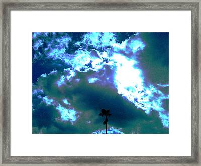 Clouds Framed Print by Douglas Kriezel